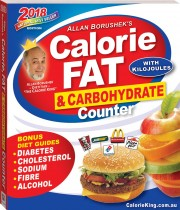 Allan Borushek's Calorie, Fat and Carbohydrate Counter 2018