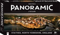 1000 Piece Panoramic Jigsaw Puzzle Staithes Village, England