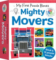 Building Blocks My First Puzzle Blocks: Mighty Movers
