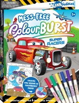Inkredibles: Super Racers Colour Burst