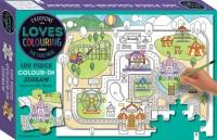 Everyone Loves Colouring 100-piece Jigsaw: The Fun Park