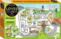 Everyone Loves Colouring 100-piece Jigsaw: The Zoo