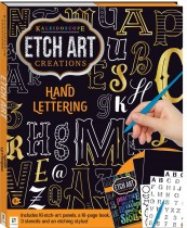 Kaleidoscope Etch Art Creations: Hand Lettering