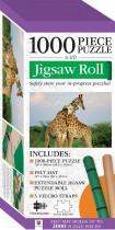 Jigsaw Roll with 1000-Piece Puzzle: Giraffe