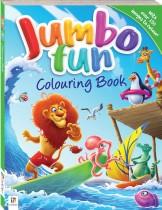 Jumbo Fun Colouring: Surfing