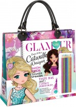 Glamour Girl Catwalk Designer Tote Bag