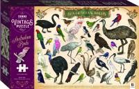 1000-piece Vintage Puzzle: Australian Birds
