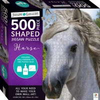 Jigsaw Gallery 500-piece Shaped Jigsaw: Horse