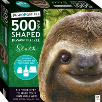 Jigsaw Gallery 500-piece Shaped Jigsaw: Sloth