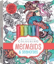 Kaleidoscope Colouring: Mermaids and Seahorses