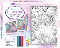 Magical Colouring Canvas Twin Kit