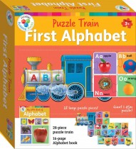 Building Blocks Puzzle Train: ABC (2020 Ed)