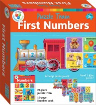 Building Blocks Puzzle Train: 123 (2020 ed)