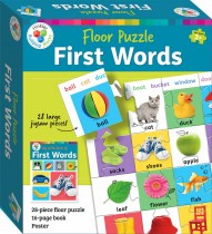 Building Blocks Floor Puzzle: Learn First Words (2020 ed)