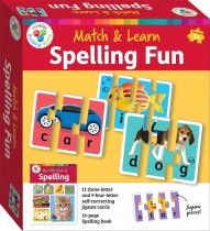 Building Blocks:Spelling Fun Match and Learn Cards (2020 ed)