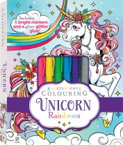 Kaleidoscope Colouring Kit: Unicorn Rainbows