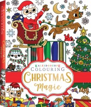 Kaleidoscope Colouring: Christmas Magic