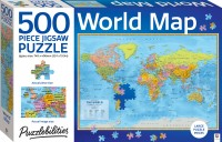 Puzzlebilities: World Map 500 Piece Jigsaw Puzzle