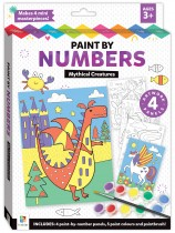 Paint by Numbers: Mythical Creatures