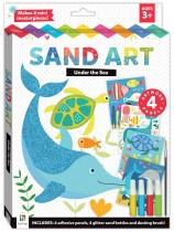 Glitter Sand Art: Under the Sea