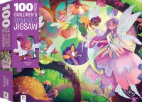 100-Piece Children's Sparkly Jigsaw: Fairy Garden