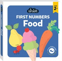 Junior Explorers®: First Numbers Food (board book)