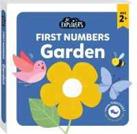 Junior Explorers®: First Numbers Garden (board book)