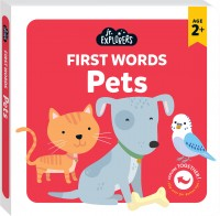 Junior Explorers®: First Words Pets (board book)