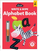 Junior Explorers Write and Wipe: Alphabet Book