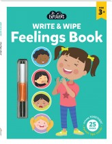 Junior Explorers Write and Wipe: Feelings Book