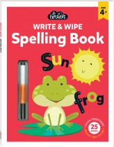 Junior Explorers Write and Wipe: Spelling Book