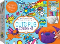 Kaleidoscope Colouring: Cute Pug Squishy Kit