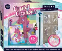 Curious Craft: Crystal Creations Shine On Diary Kit