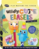 Curious Craft: Make Your Own Wildly Cute Erasers