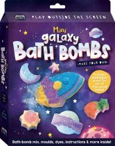 Curious Craft: Make Your Own Mini Galaxy Bath Bombs