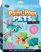 Curious Craft: Make Your Own Paint-Pour Pets