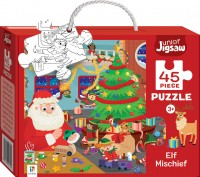 Junior Jigsaw: Elf Mischief