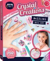 Curious Craft Crystal Creations: Dazzling Nail Art