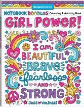 Notebook Doodles: Girl Power