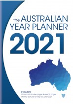 Australian Year Planner 2021