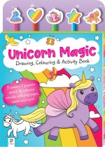 Unicorn Magic: Drawing, Colouring & Activity Book