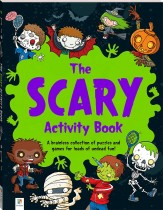 The Scary Activity Book