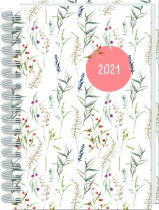2021 A5 Wiro Diary: Native Floral