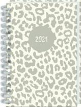 2021 A5 Wiro Diary: Animal Print