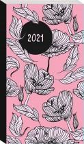 2021 Slimline Diary: Blush Floral