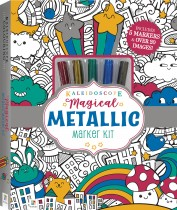 Kaleidoscope Colouring Kit: Magical Metallic Markers(2020ed)