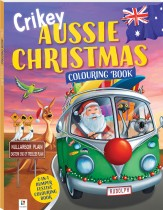 Crikey Aussie Christmas Colouring