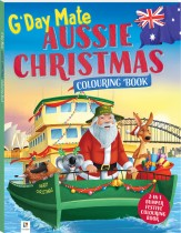 G'Day Mate Aussie Christmas Colouring