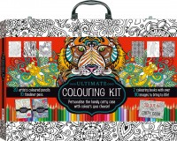 Ultimate Colouring Carry Case: Animals and Patterns