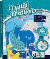 Crystal Creations: Playful Dolphins